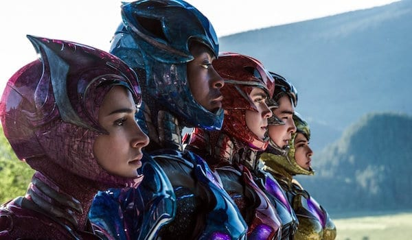 New Power Rangers Posters Reveal the Zords…sort of