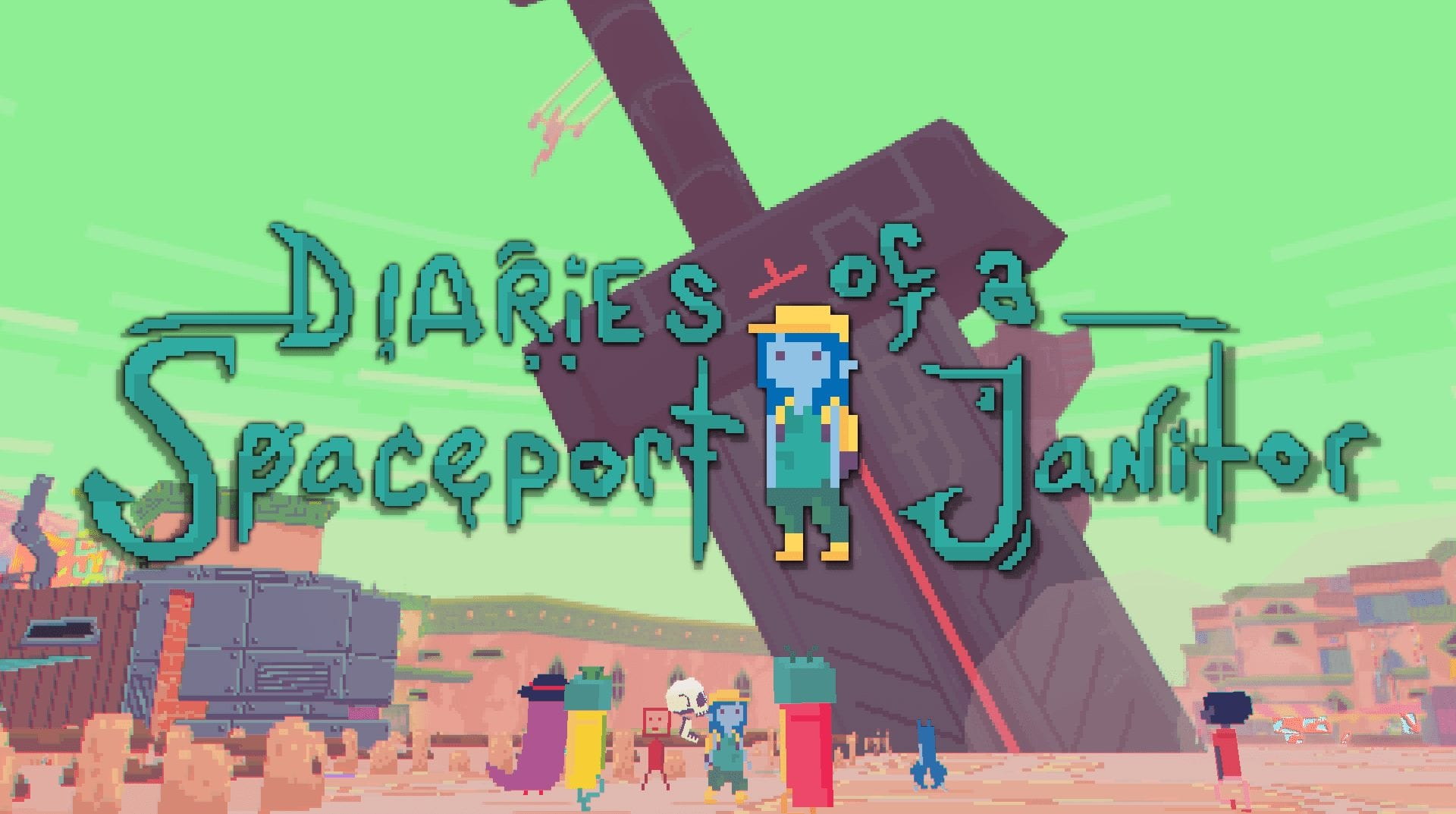 Diaries of a Spaceport Janitor – Review