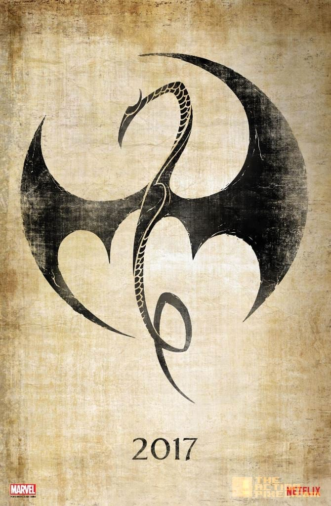 Trailer: Iron Fist and the Defenders are Coming!