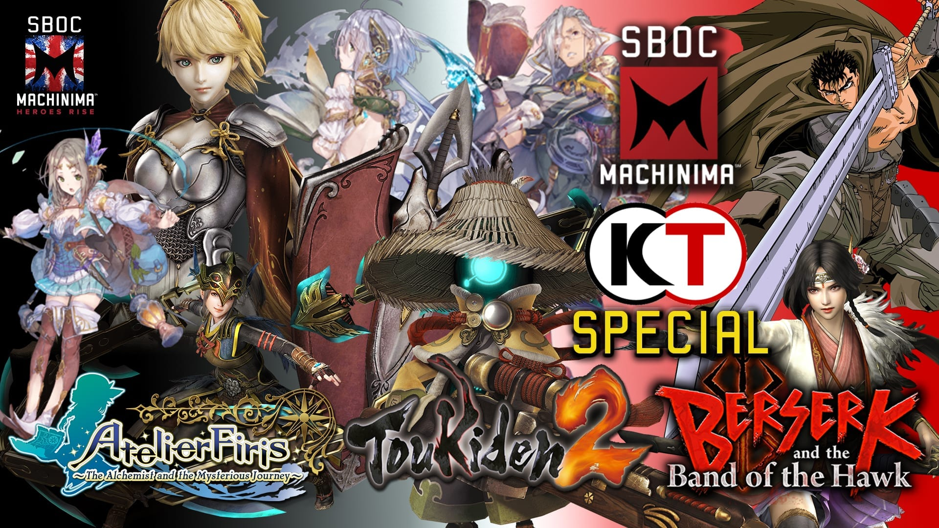 THE KOEI TECMO SPECIAL!