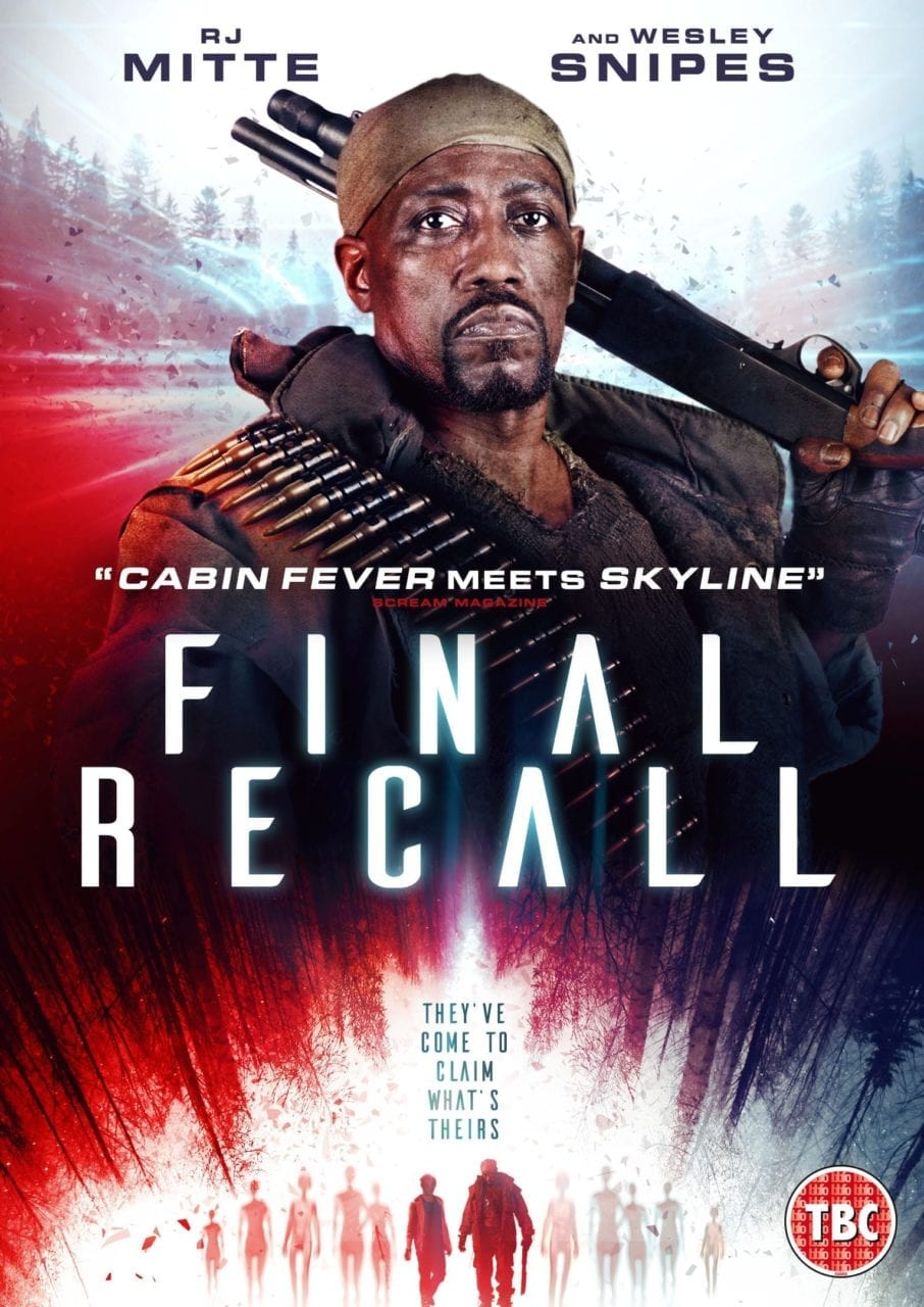Wesley Snipes' Final Recall is Coming to DVD soon