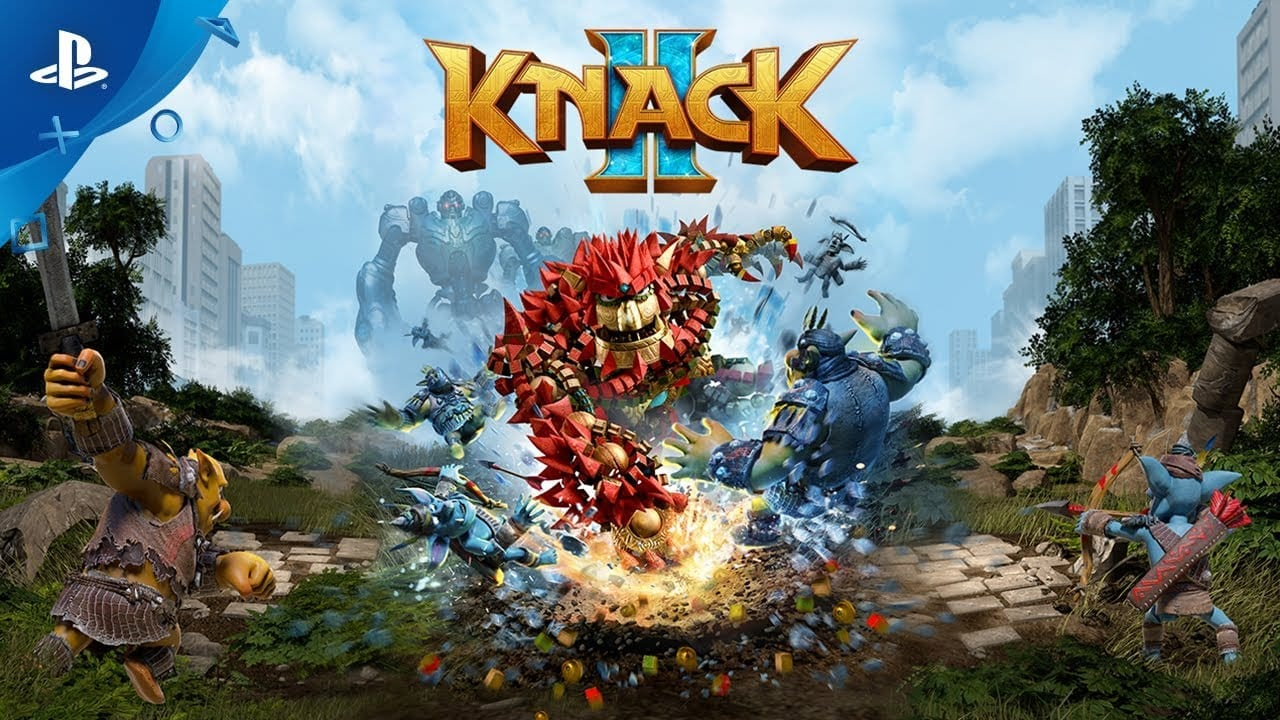 Knack 2 Gets a Free PS4 Demo