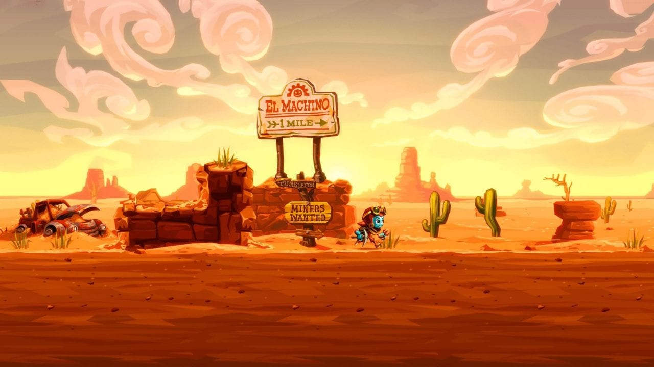Steamworld Dig 2 Review (PS4/Vita)