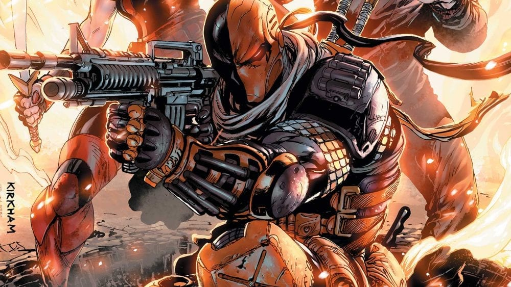A Deathstroke Movie Could Be Happening