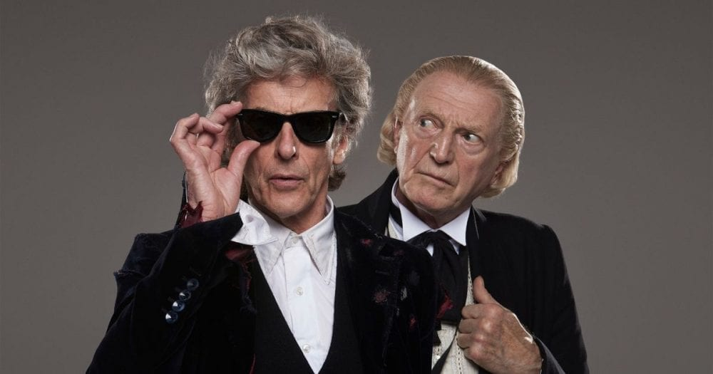 NYCC: Peter Capaldi Teases 'Doctor Who' Finale