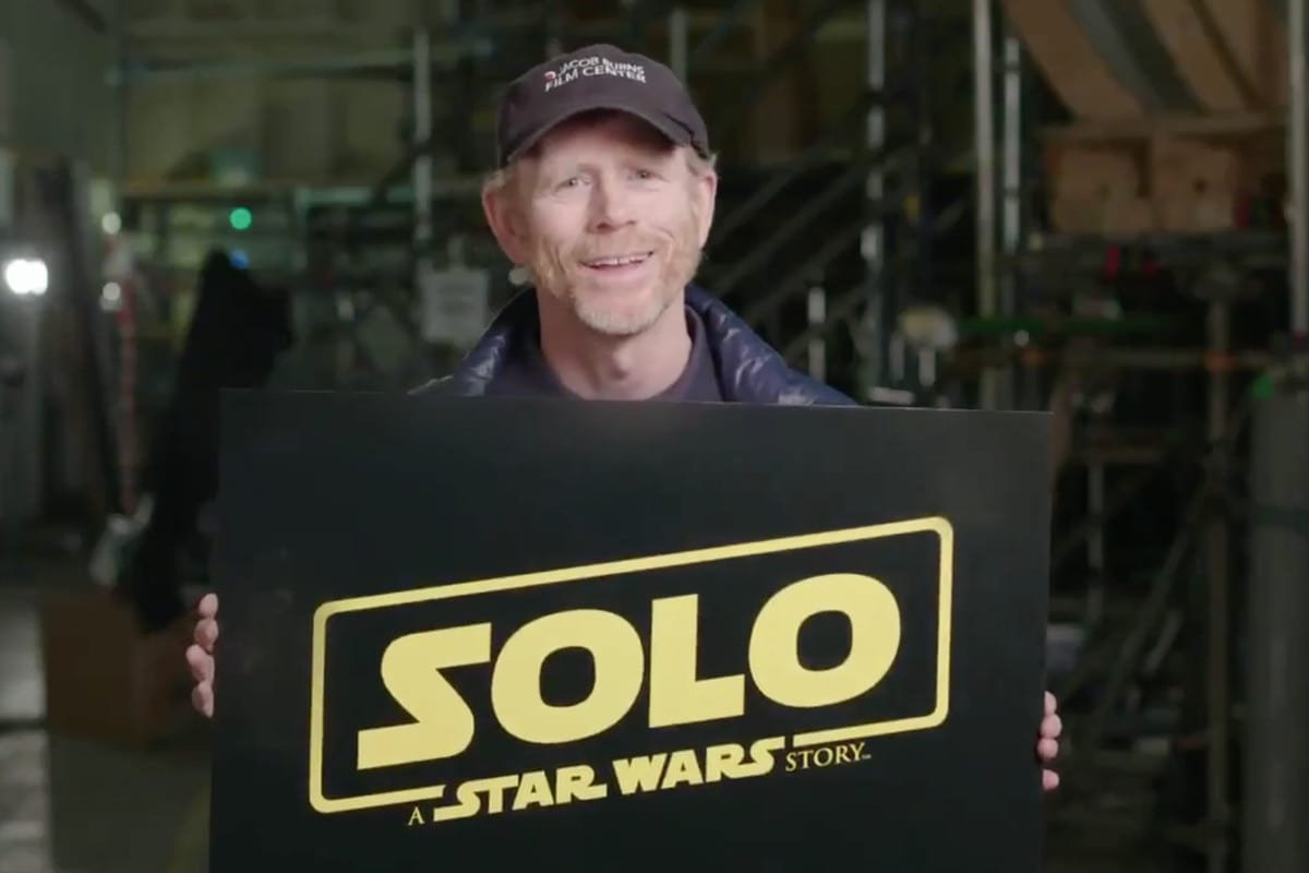 Ron Howard Announces Han Solo Movie Title