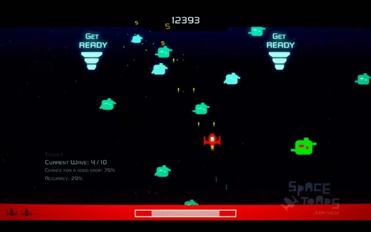 Play Expo Manchester 2017: Space Toads is an Unrelenting Arcade Classic