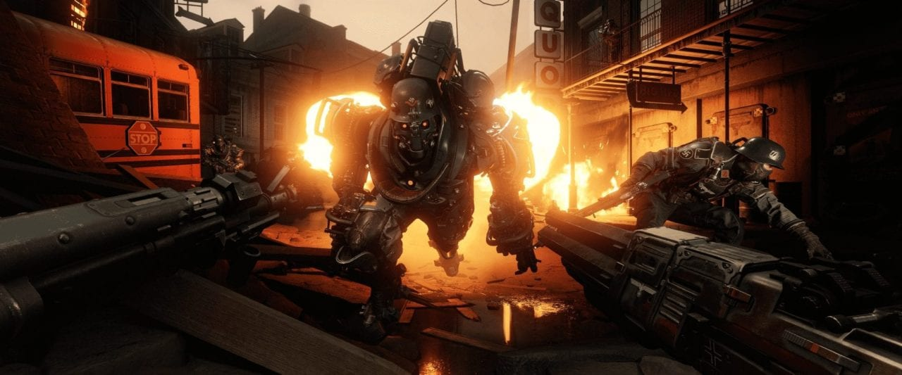 """<span class=""""entry-title-primary"""">Wolfenstein II: The Diaries of Agent Silent Death Available Now</span> <span class=""""entry-subtitle"""">The second in a series of three DLC packs available as part of The Freedom Chronicles Season Pass</span>"""