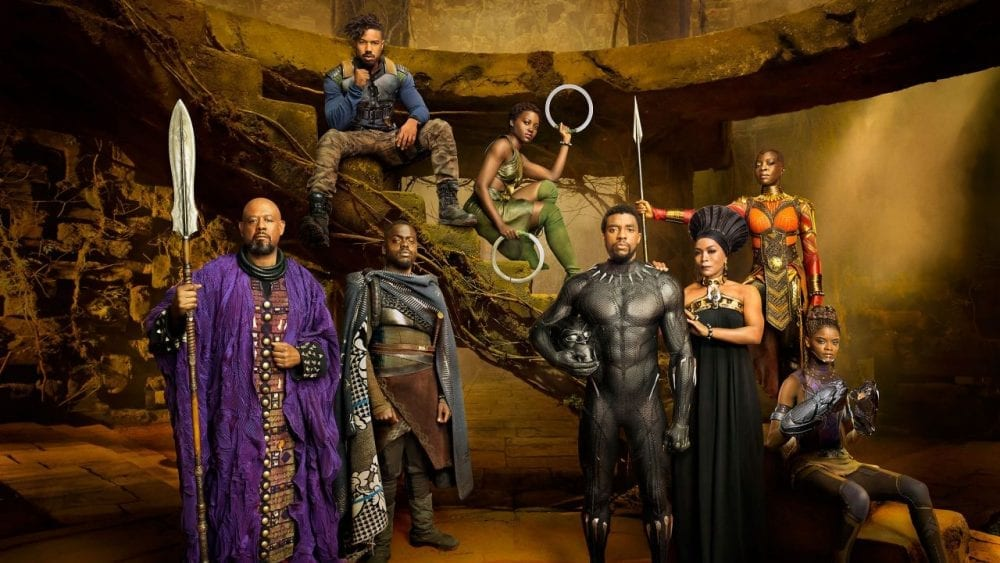 New Black Panther Posters Give Character Insights