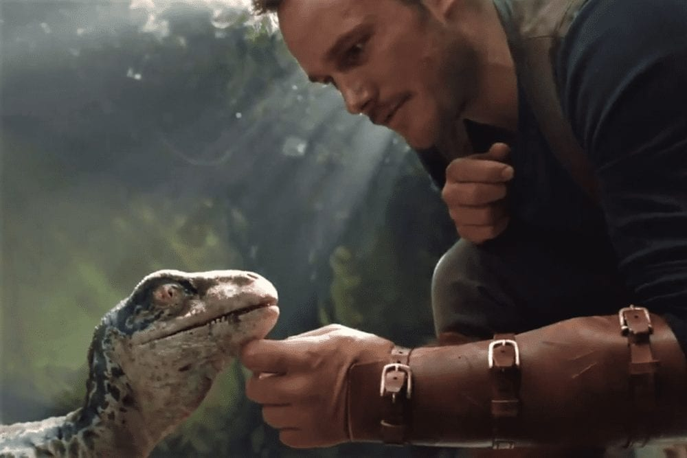 First Look At 'Jurassic World: Fallen Kingdom' Shows Raptor Baby
