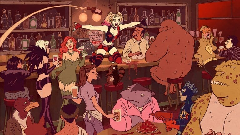 Harley Quinn Goes Back To Animation!