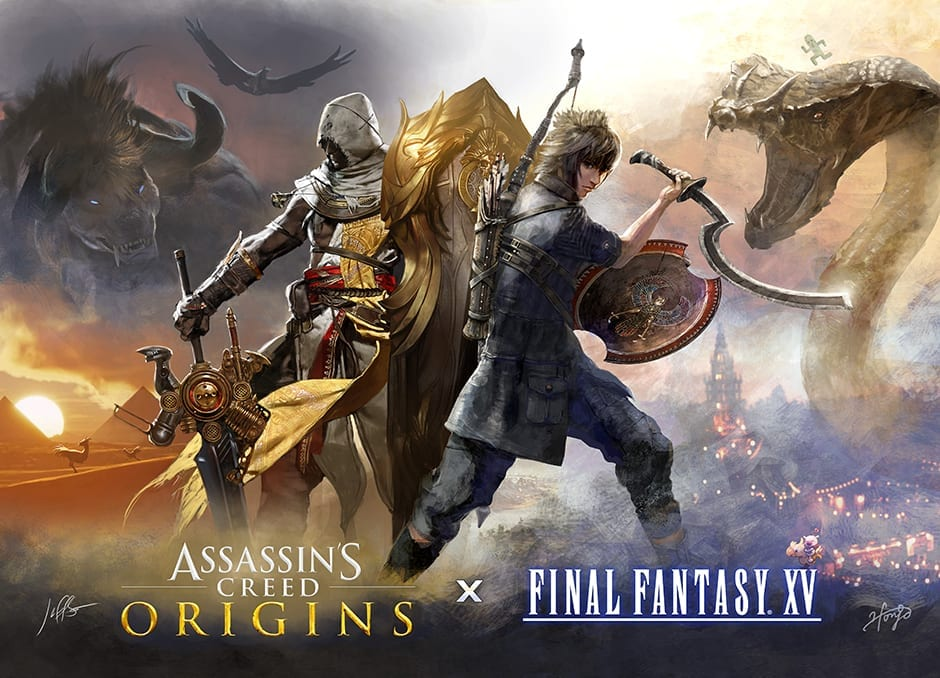 "<span class=""entry-title-primary"">Assassin's Creed: Origins' Final Fantasy XV Crossover is Available Now</span> <span class=""entry-subtitle"">Kweh</span>"