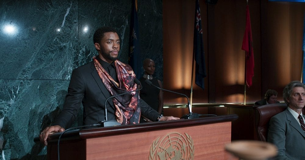 The King Has Arrived in New 'Black Panther' Trailer