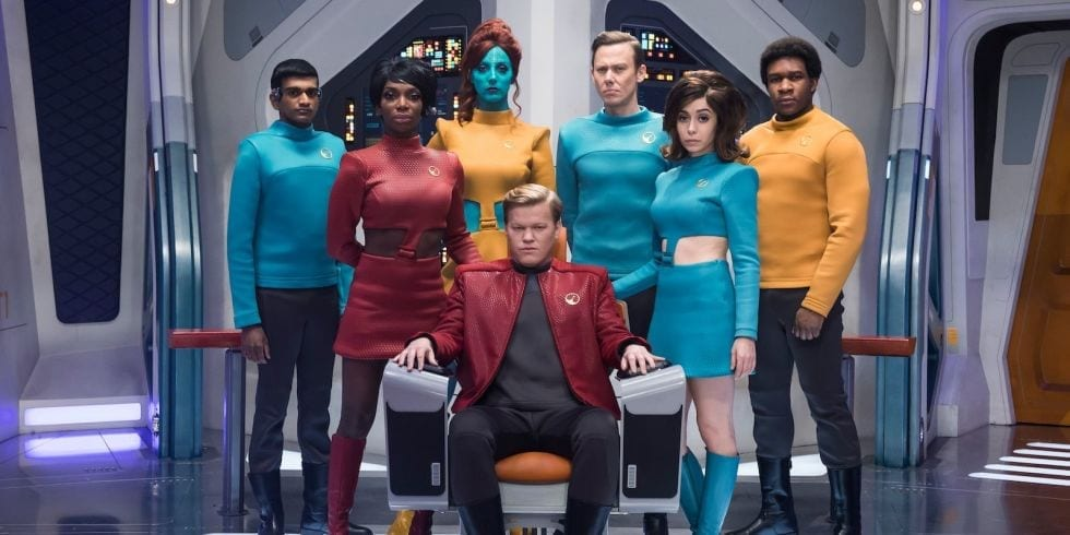 """<span class=""""entry-title-primary"""">Black Mirror S04 E01 Review – USS Callister</span> <span class=""""entry-subtitle"""">You're aboard Robert Daly's Ship</span>"""