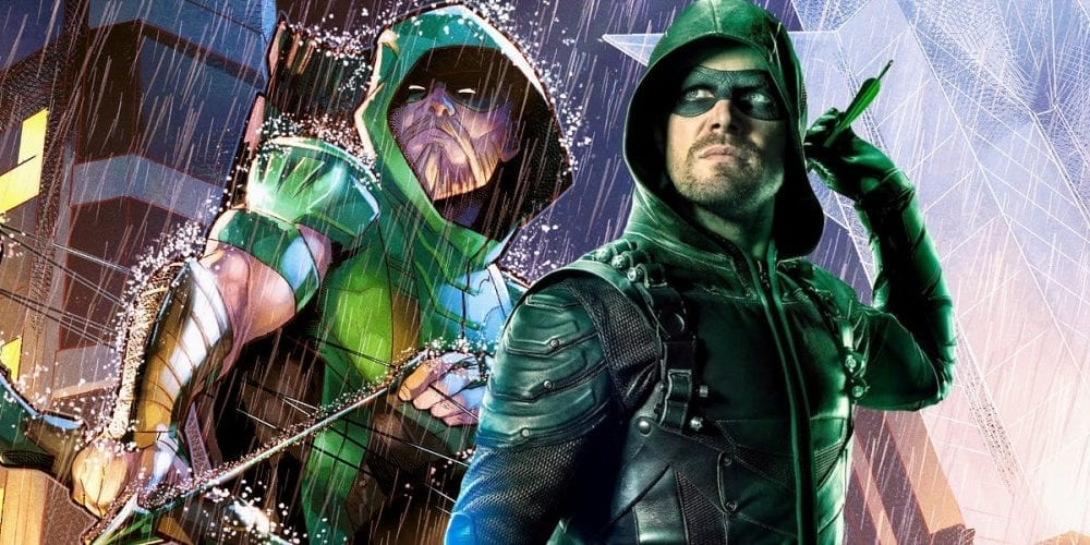 """<span class=""""entry-title-primary"""">Green Arrow Comic is Cutting Ties with CW Show</span> <span class=""""entry-subtitle"""">Warning: This contains SPOILERS for Green Arrow #36</span>"""