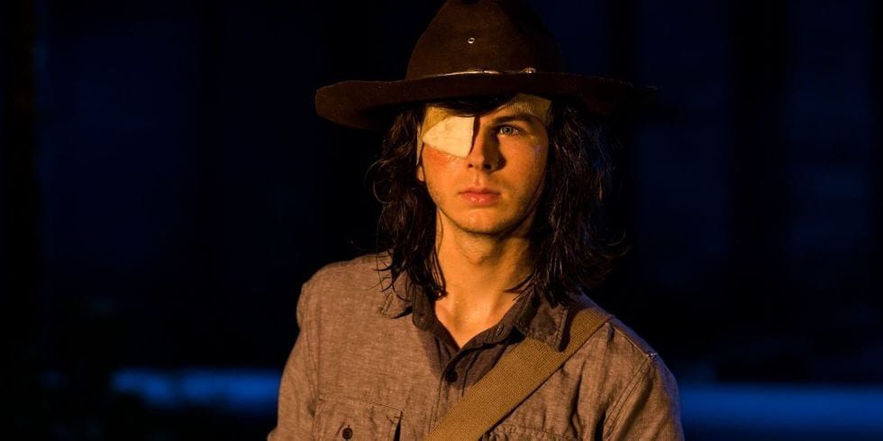 """<span class=""""entry-title-primary"""">Why Did 'The Walking Dead' Kill Carl?</span> <span class=""""entry-subtitle"""">Showrunner Scott Gimple explains the controversial decision</span>"""