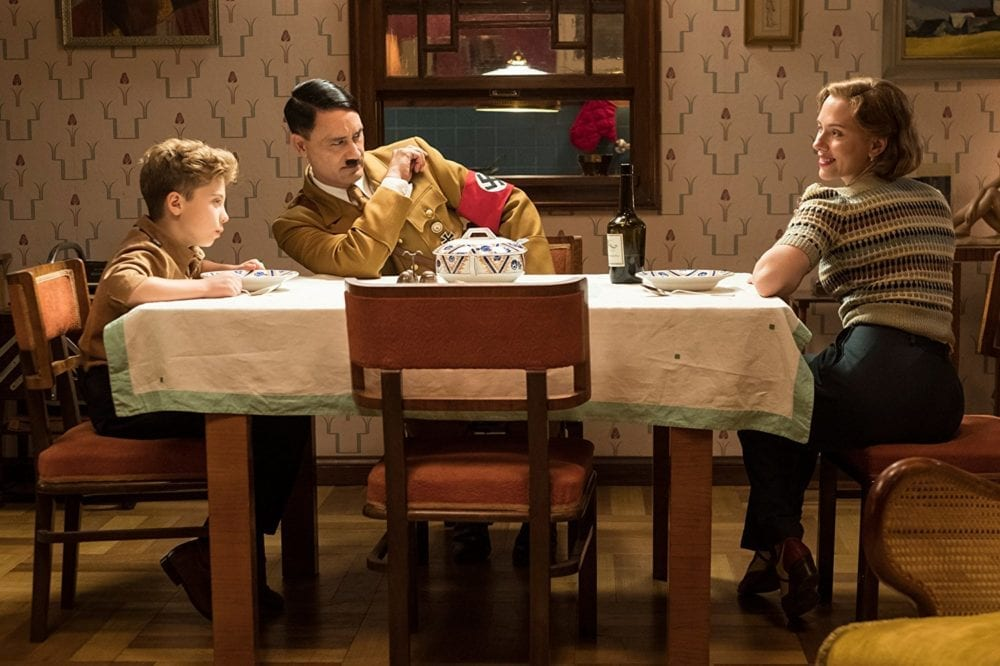 """<span class=""""entry-title-primary"""">Taika Waititi is Hitler in First Image From 'Jojo Rabbit'</span> <span class=""""entry-subtitle"""">Yes, you read that right.</span>"""