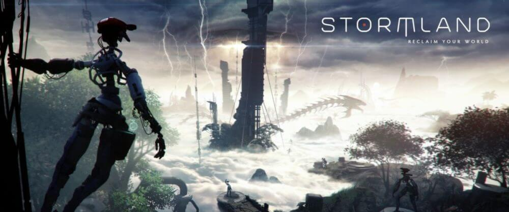"""<span class=""""entry-title-primary"""">Insomniac Announces 'Stormland' Open World VR Game</span> <span class=""""entry-subtitle"""">Only on Oculus at the moment</span>"""