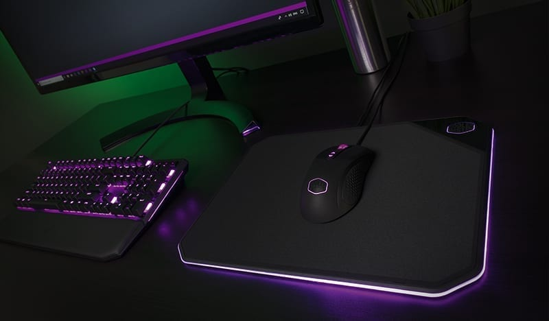 Cooler Master Releases Dual Surface RGB Mousepad