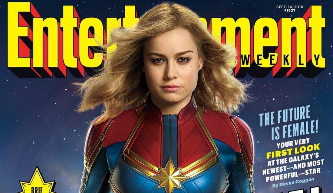 "<span class=""entry-title-primary"">First Official Images of Brie Larson as Captain Marvel</span> <span class=""entry-subtitle"">As well as a two-eyed Nick Fury</span>"