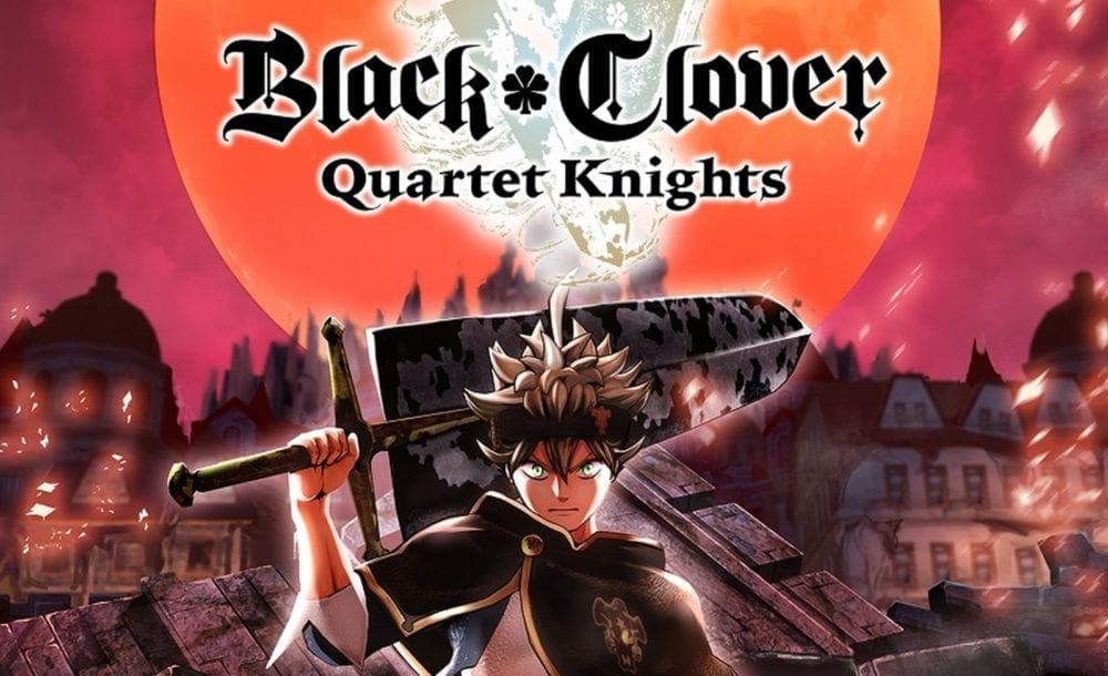 """<span class=""""entry-title-primary"""">'Black Clover Quartet Knights' Out Now!</span> <span class=""""entry-subtitle"""">Black Clover Quartet Knights releases today!</span>"""