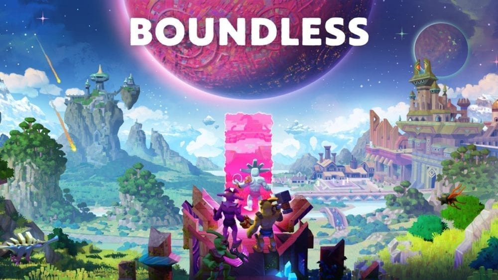 "<span class=""entry-title-primary"">One Universe, All the Players: Epic Sandbox MMO 'Boundless' is Out Today on PC </span> <span class=""entry-subtitle"">Craft, Explore, and Influence a Cosmos of Creation   </span>"