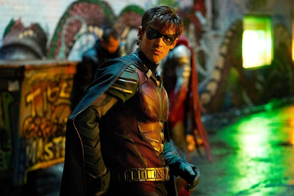 "<span class=""entry-title-primary"">'Titans' Star Brenton Thwaites Thinks 'F*** Batman' Line is Important</span> <span class=""entry-subtitle"">He may be the only one</span>"
