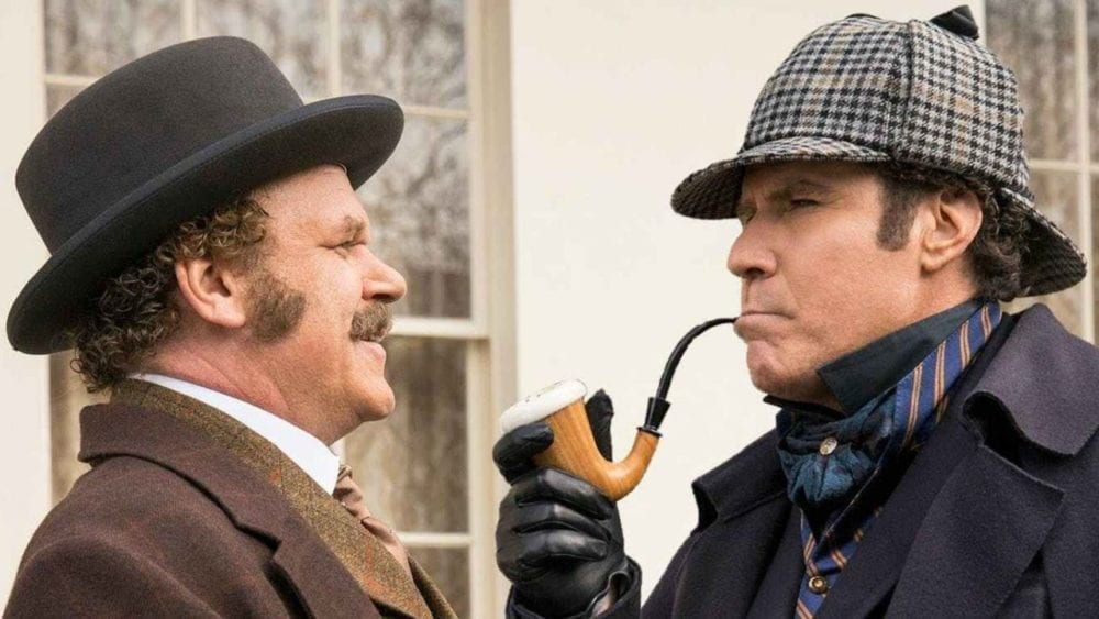 """<span class=""""entry-title-primary"""">Will Ferrell and John C. Reilly Reunite in 'Holmes & Watson' Trailer</span> <span class=""""entry-subtitle"""">Hold on to your Cumberbritches, folks.</span>"""
