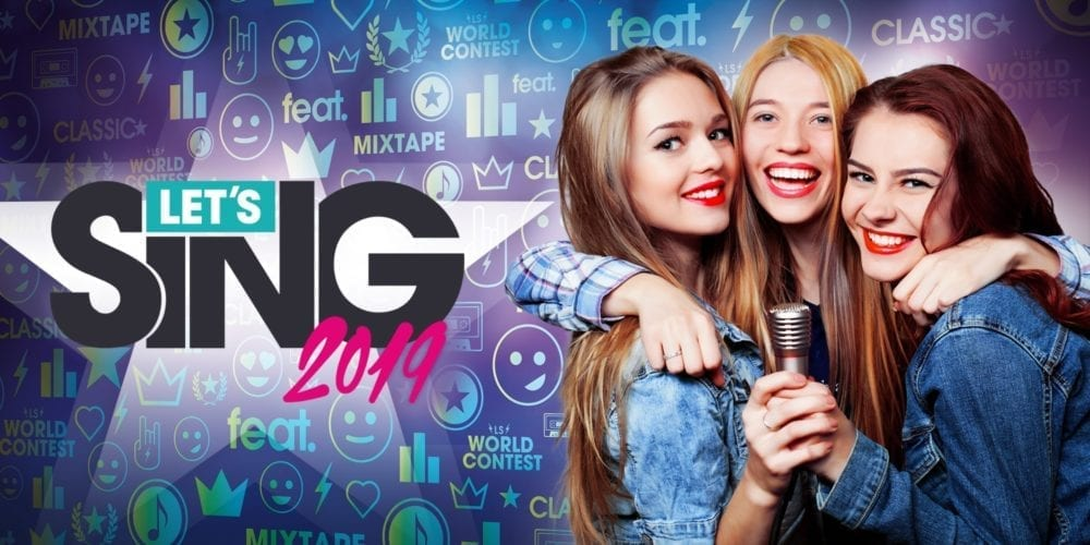 "<span class=""entry-title-primary"">'Let's Sing 2019' Out Now on PlayStation 4, Wii & Nintendo Switch</span> <span class=""entry-subtitle"">Raise your voice!</span>"