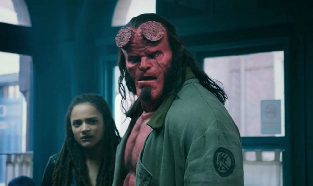 "<span class=""entry-title-primary"">David Harbour Fights Evil in 'Hellboy Trailer'</span> <span class=""entry-subtitle"">Big Red is back, but not as you know him.</span>"