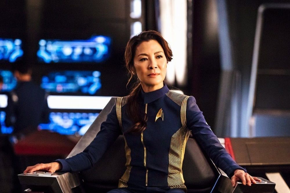 """<span class=""""entry-title-primary"""">Michelle Yeoh to Lead New 'Star Trek' Series</span> <span class=""""entry-subtitle"""">CBS All Access adds another to the roster</span>"""