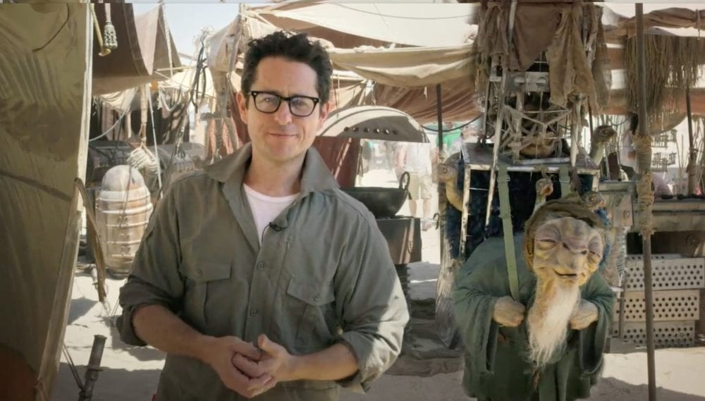 """<span class=""""entry-title-primary"""">J.J. Abrams Celebrates End of Shooting on 'Episode IX'</span> <span class=""""entry-subtitle"""">The end of the Skywalker Saga is nigh</span>"""