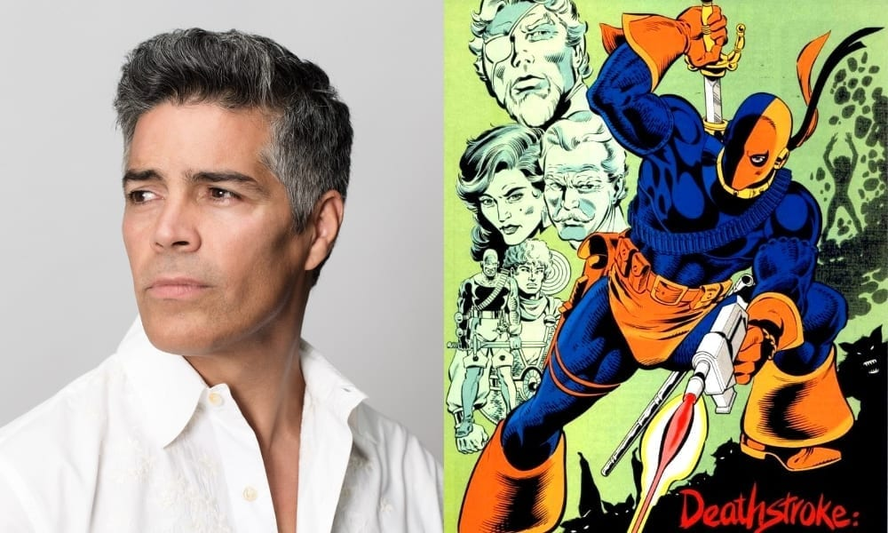 Esai Morales Cast as Deathstroke in DC Universe's 'Titans'