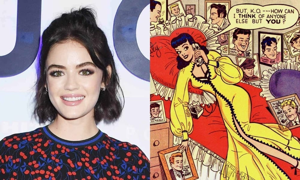 """<span class=""""entry-title-primary"""">Lucy Hale Cast as Lead in 'Riverdale' Spin-off 'Katy Keene'</span> <span class=""""entry-subtitle"""">For a pilot, at least.</span>"""