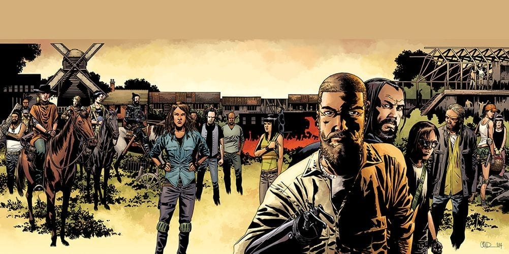 'The Walking Dead' Comic Series Ends With Surprise Finale