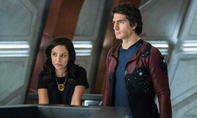 Brandon Routh & Courtney Ford Leaving 'DC's Legends of Tomorrow'
