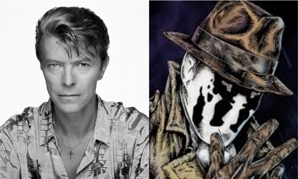 Alan Moore Reveals David Bowie Wanted to Play Rorschach