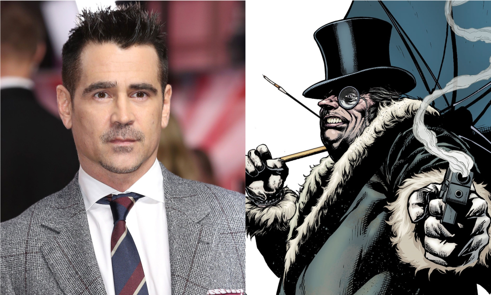 Matt Reeves Confirms Colin Farrell as The Penguin in 'The Batman'