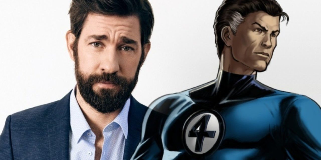 "John Krasinski Would ""Love"" to Play Mr. Fantastic"